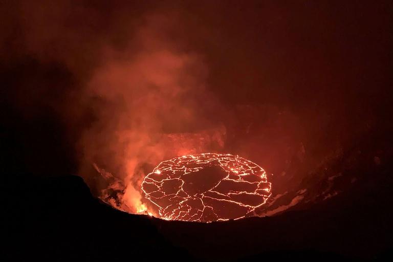 Volcano Lava Eruption Danger
