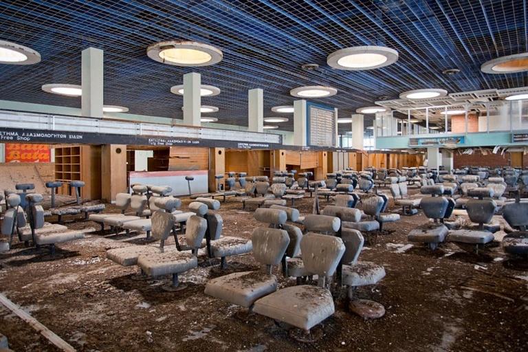 european abandoned airports list