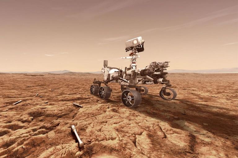 mars rover rock mystery