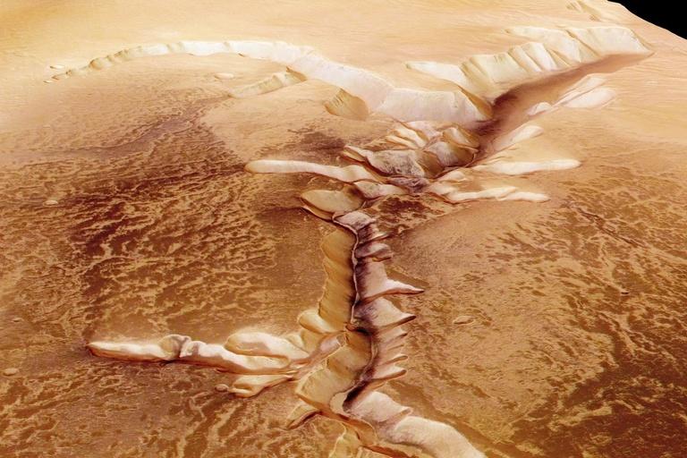 mars lakes water clay