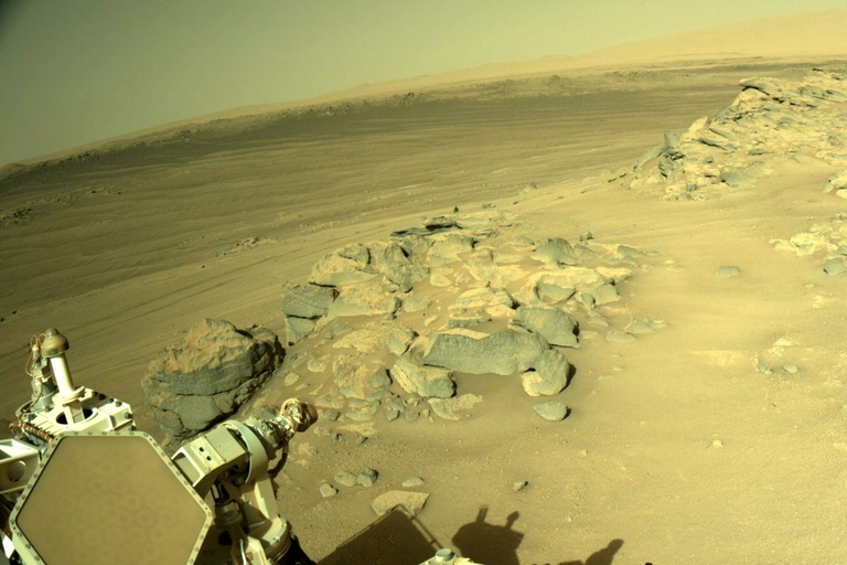 Mars rock samples missing